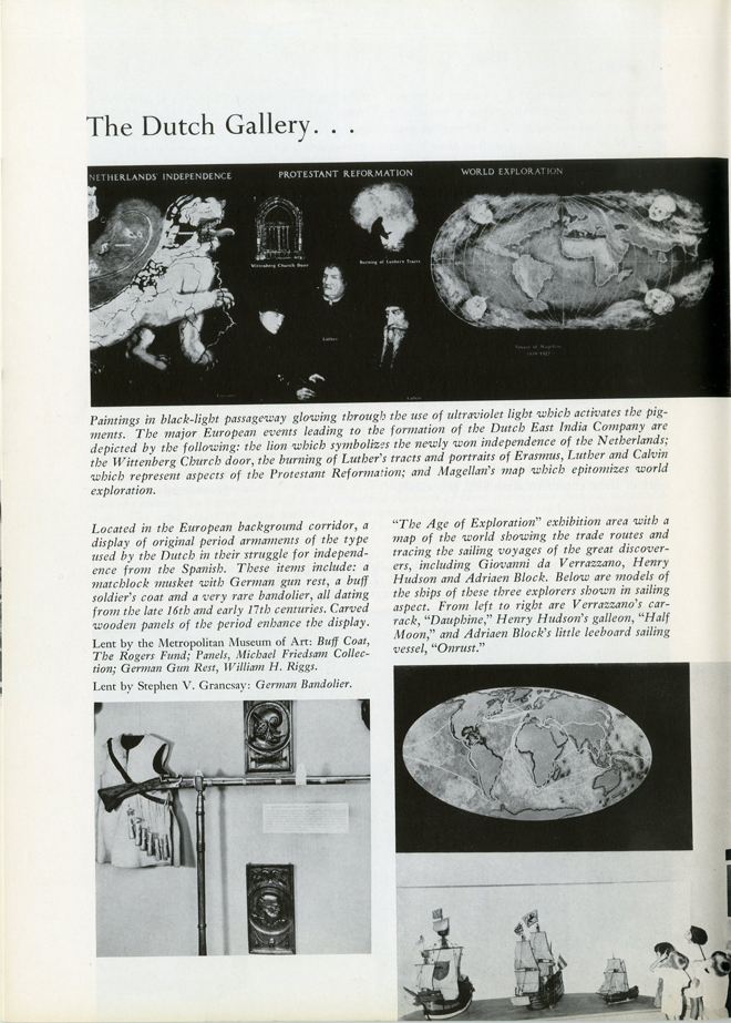 "Excerpt from ""Museum of the City of New York and Marine Museum of the City of New York Annual Report 1965-1966"". Museum of the City of New York"