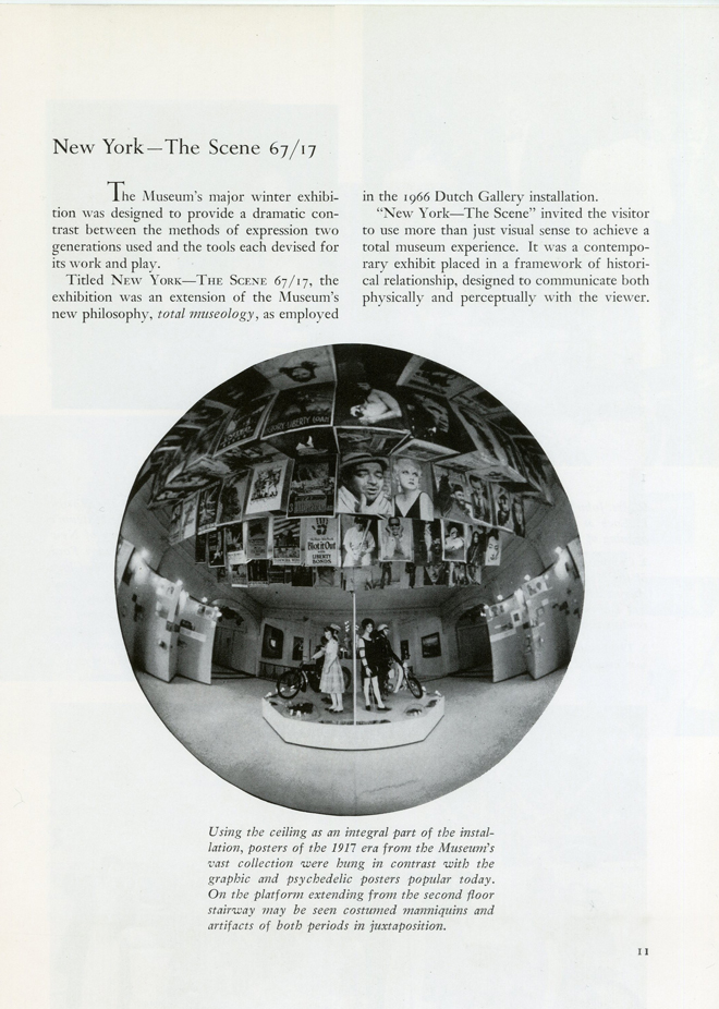 "Excerpt from ""Museum of the City of New York and Marine Museum of the City of New York Annual Report 1967-1968"". Museum of the City of New York"