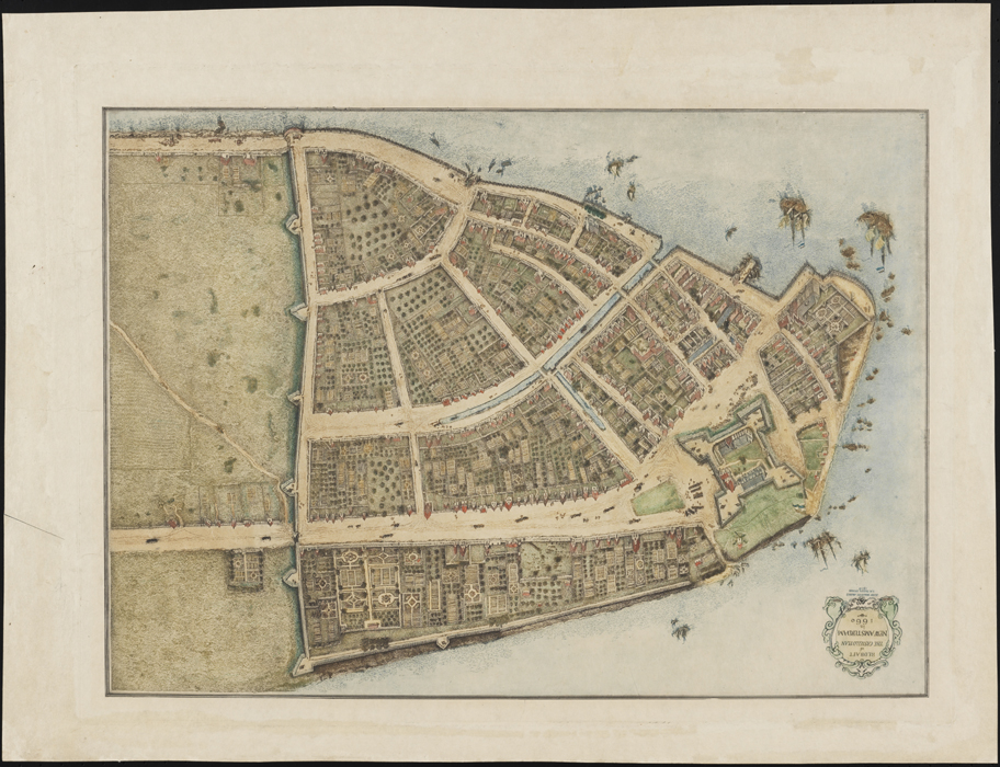 John Walcott Adams (1874-1925). The Castello Plan. New Amsterdam in 1660. 1916. Museum of the City of New York. 29.100.709
