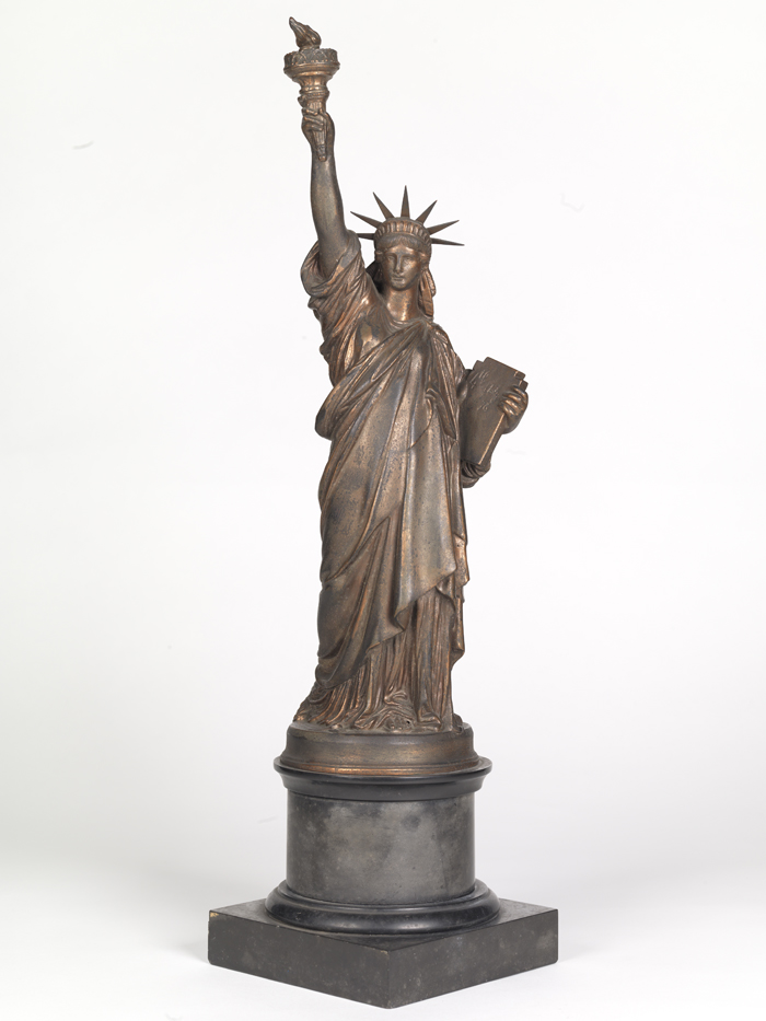 Frédéric Auguste Bartholdi (1834-1904). Statue of Liberty, ca. 1875. Museum of the City of New York. 42.421