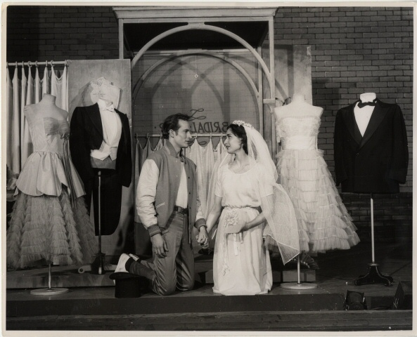 Fred Fehl. [Larry Kert as Tony and Carol Lawrence as Maria] 1957. Museum of the City of New York. 68.80.2959