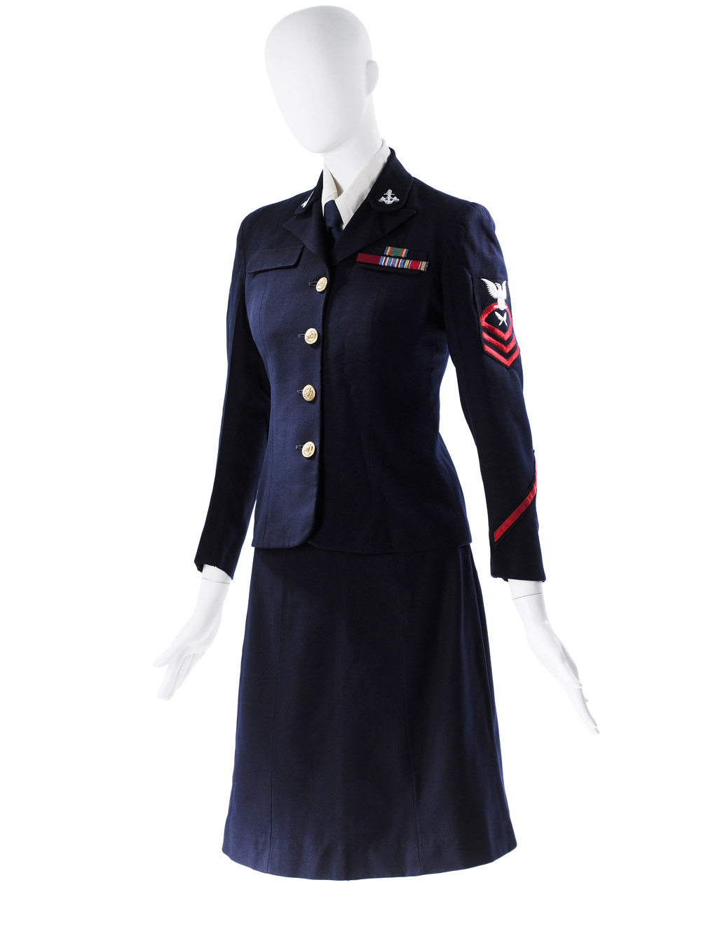 Mainbocher U.S. Navy WAVES uniform
