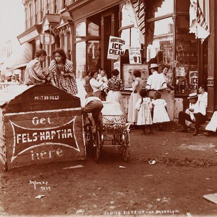 Jewish District of Brooklyn, 1899