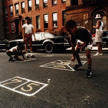 Joseph Rodriquez, Game of Skellie, East Harlem, 1987