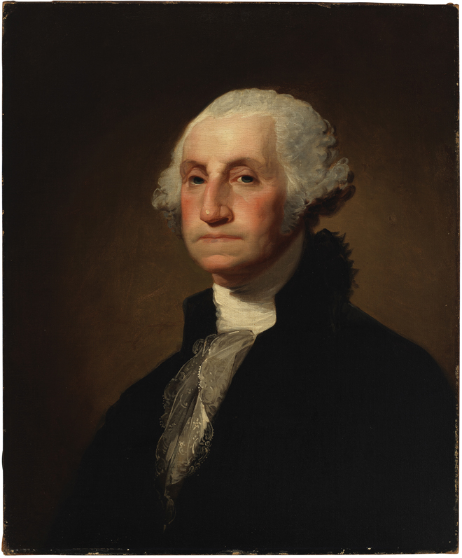 Gilbert Stuart, George Washington, 1796. Museum of the City of New York, 46.1.