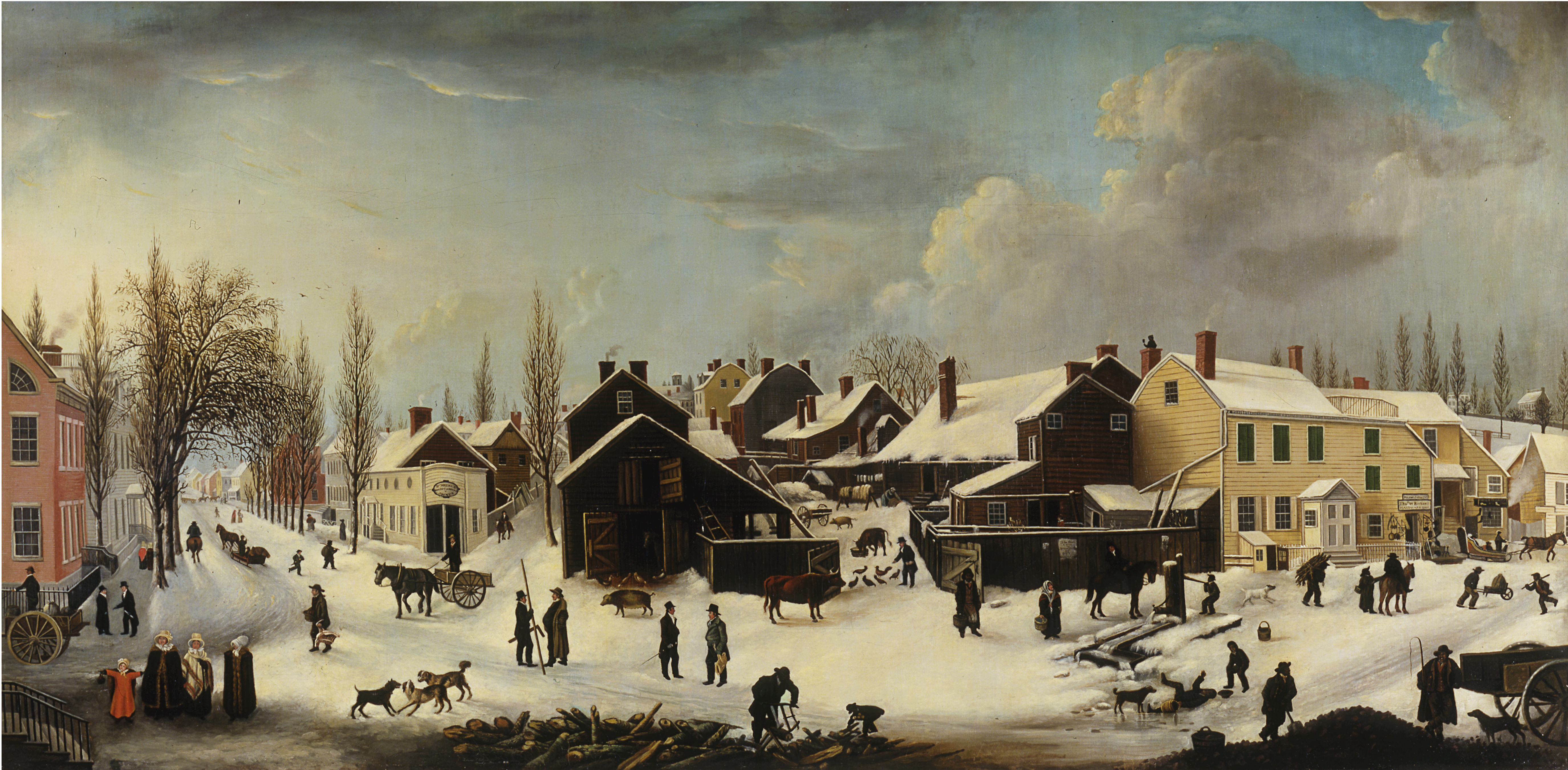 winter wonderland snow globe making museum of the city of new york