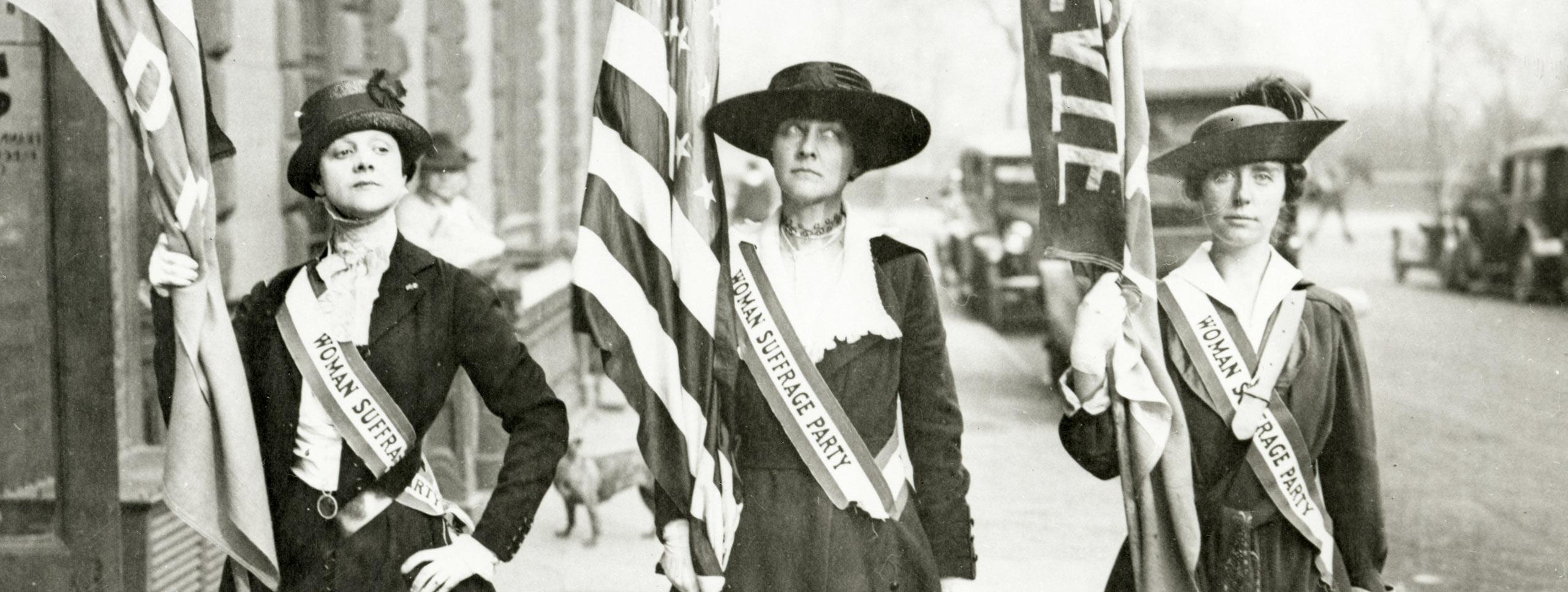 Woman Suffrage -- Activist New York