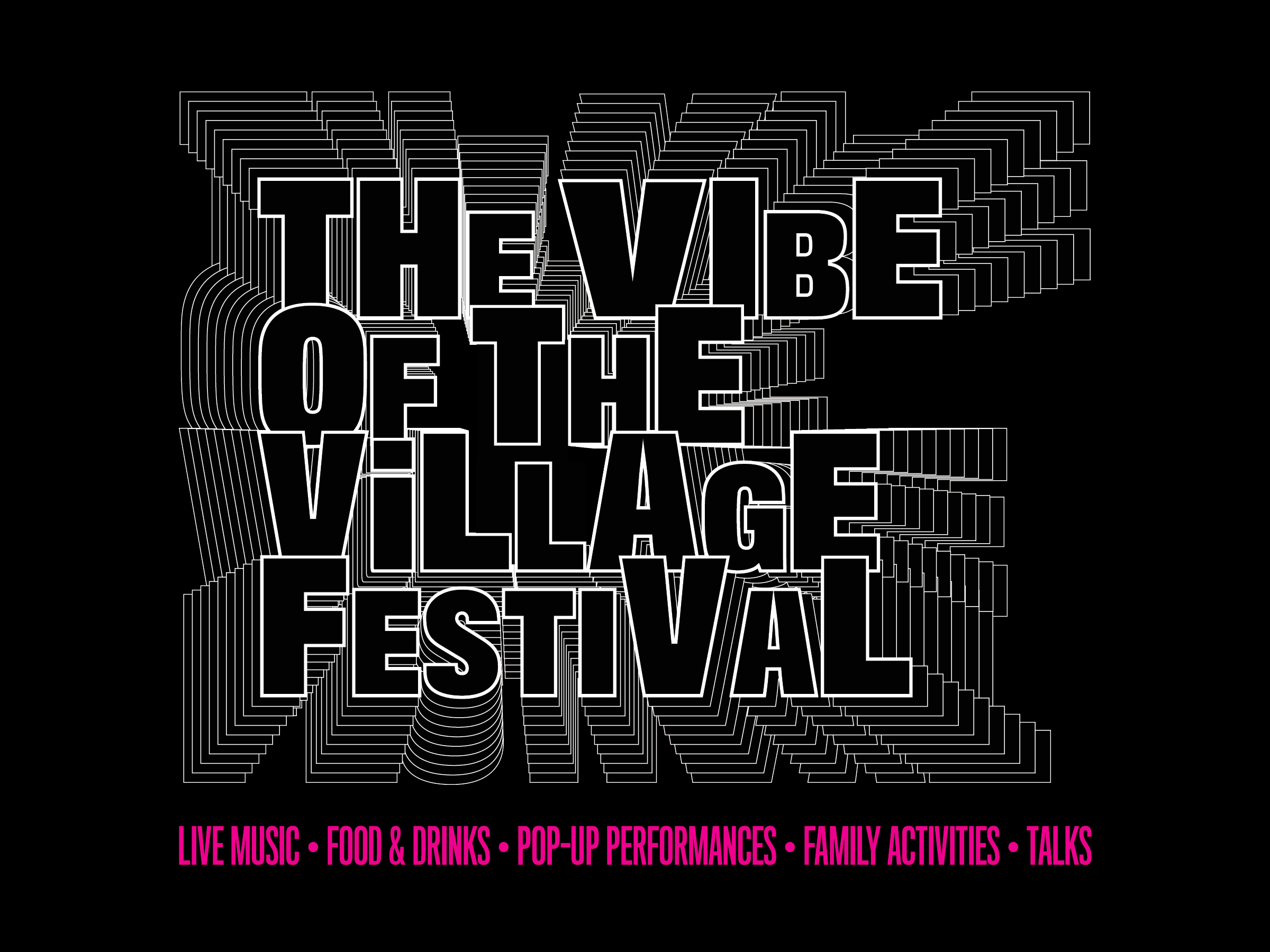 Vibe of the Village title treatment