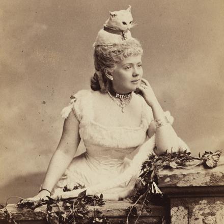 Mora (b. 1849). Miss Kate Fearing Strong (later Mrs. Arthur Welman).