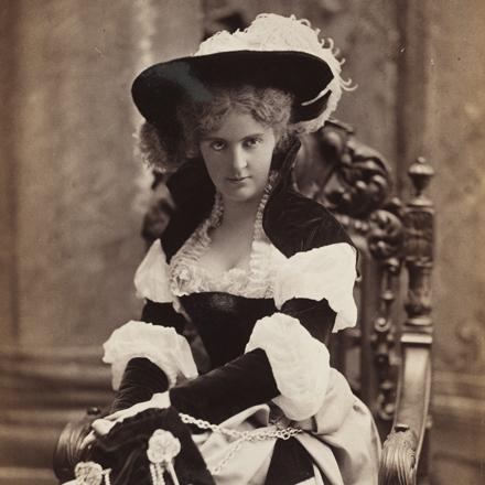 Mora (b.1849). Mrs. Henry Lukemeyer.