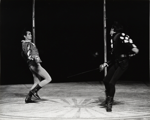 Unknown. [Martin Sheen as Romeo and Tom Aldredge as Tybalt.] 1968. Museum of the City of New York. F2013.41.298