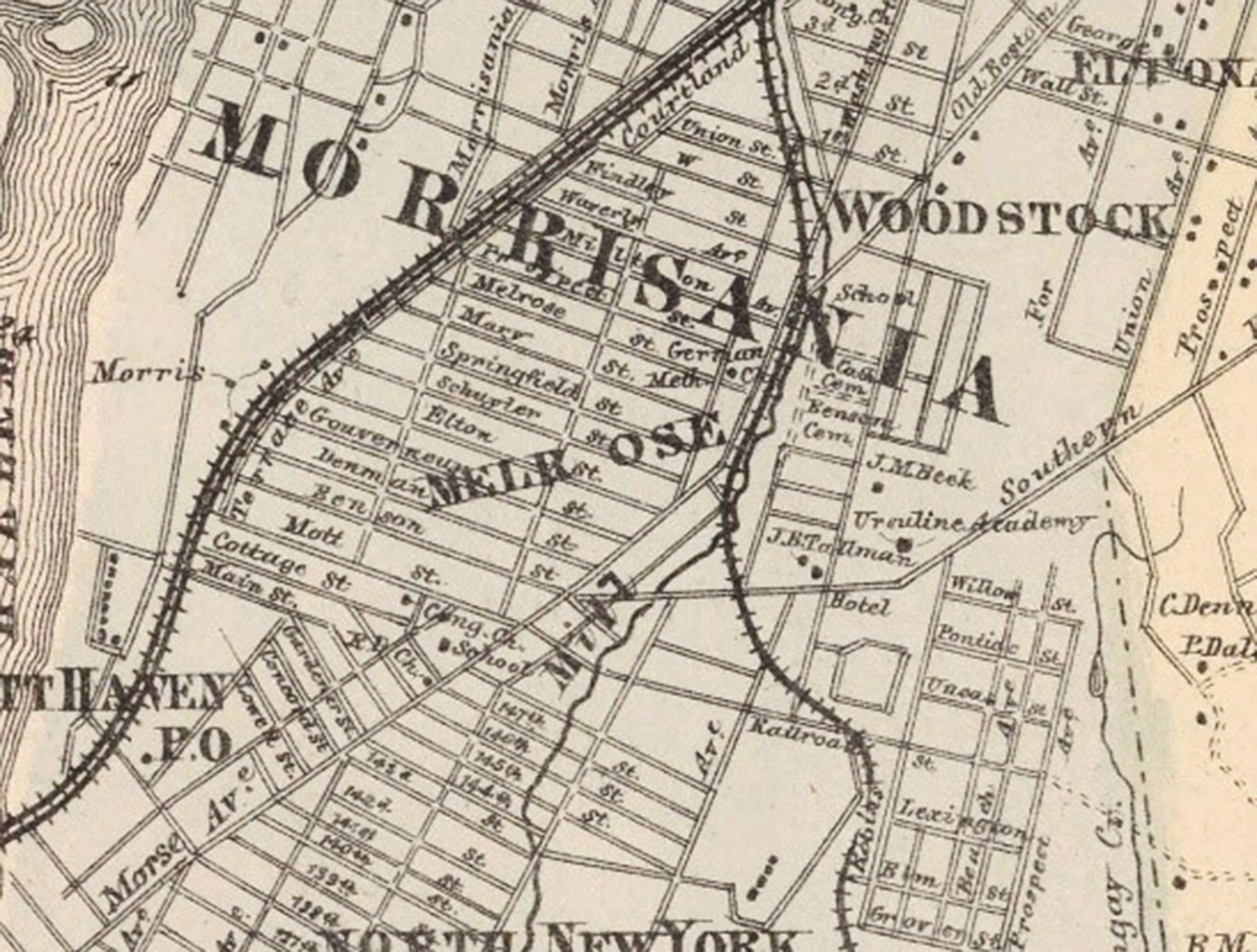 Plan view of Westchester