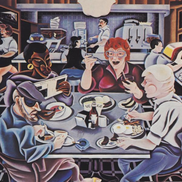Arnie Charnick. Luncheonette Life. 1997. Museum of the City of New York. 97.188.23