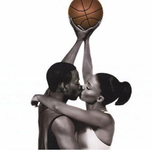 Imagem de amor e basquete