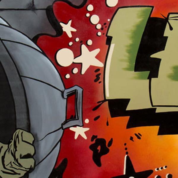 "LEE라는 이름의 거리 예술, 쓰레기통 뒤에 숨어있는 Howard the Duck, 그리고""예술이 범죄라면 신이 모든 것을 용서하십시오"""