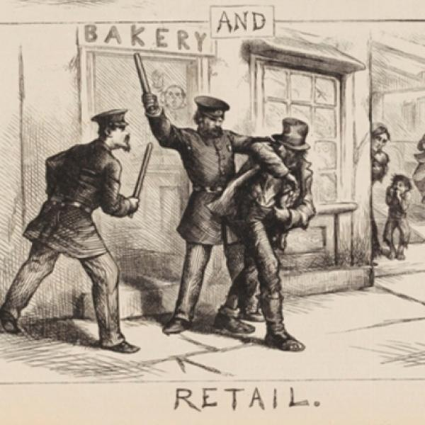 Thomas Nast (1840-1902). Wholesale and Retail. 1871. Museum of the City of New York. 99.124.5