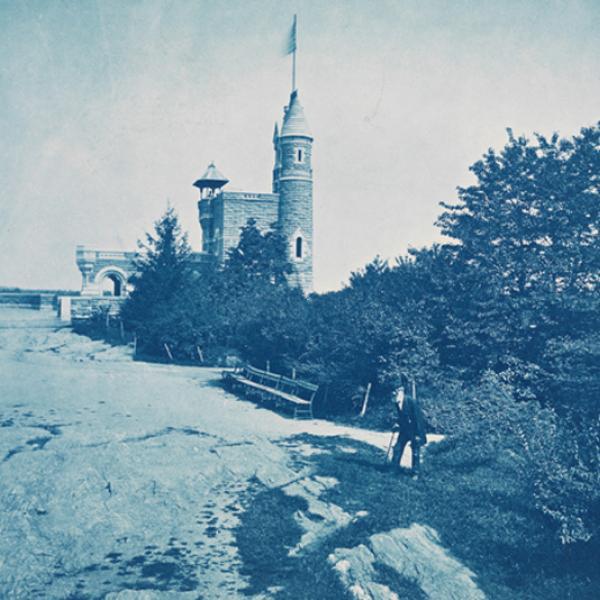 vedere Castle, Looking North, ca. 1878. Augustus Hepp