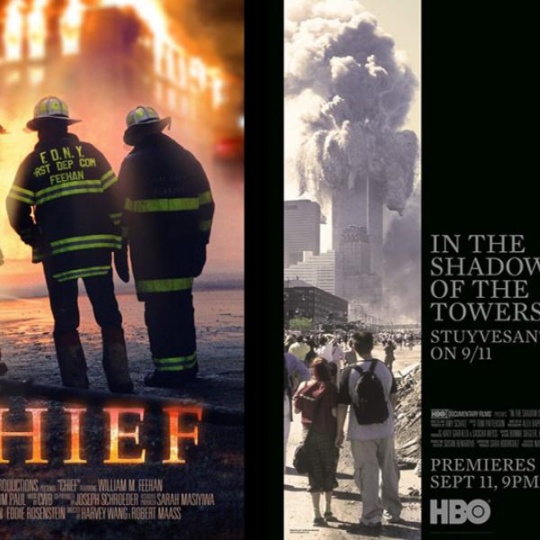 """""""Chief"""" and """"In the Shadow of the Towers"""" Movie Posters"""