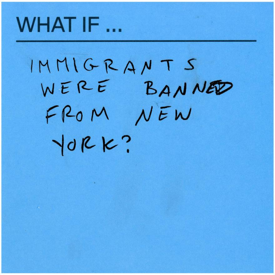 What If immigrants were banned from New York?