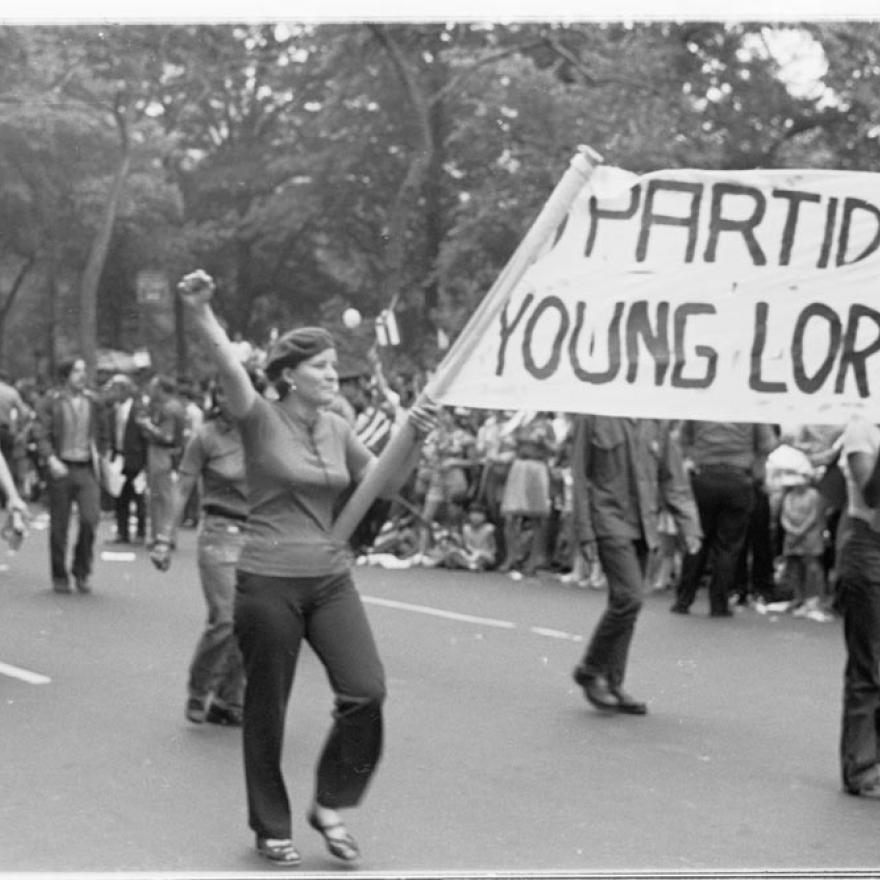 Young Lords, April 1988 Photograph by Marlis Momber