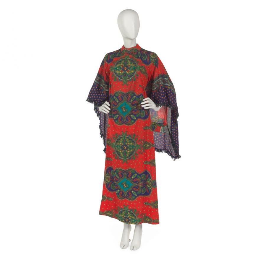 "Ruby Hyacinth Bailey's ""Africa Speaks"" caftan, 1963-1966."
