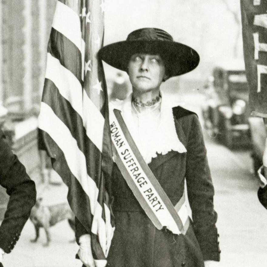 Woman Suffrage -- Activist New York