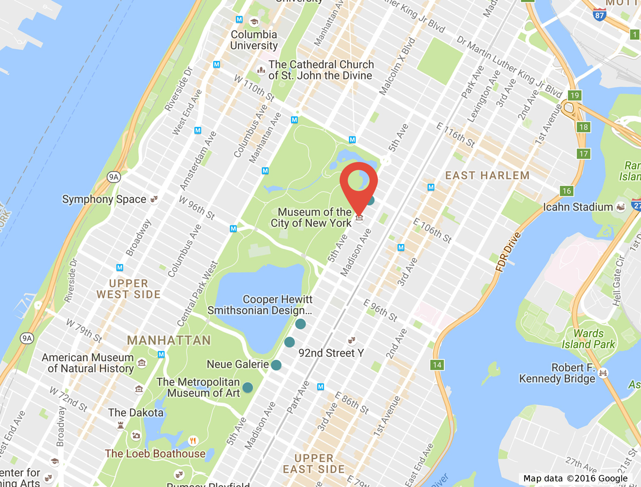Home Museum Of The City Of New York - New york on us map