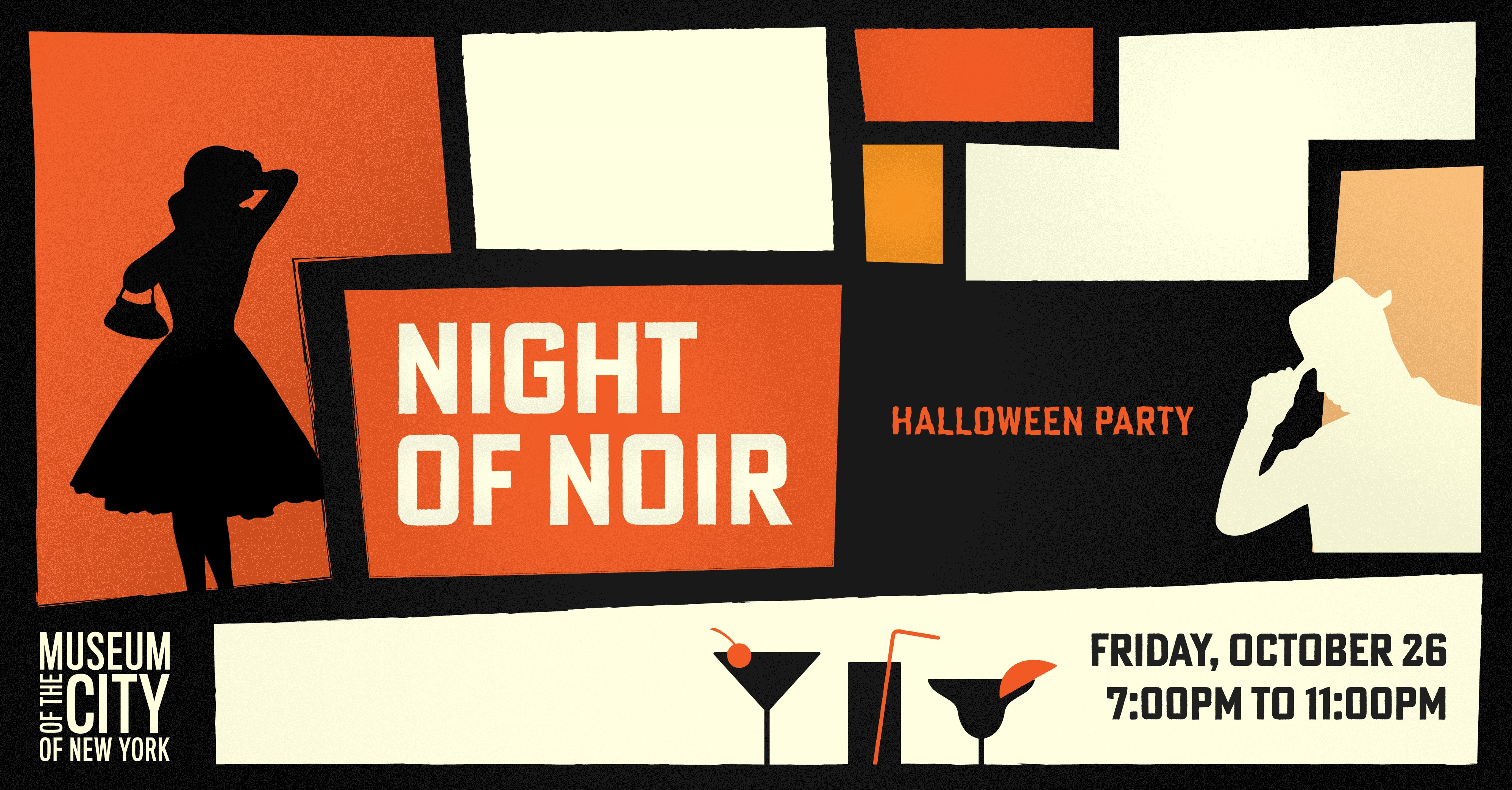 night of noir: a halloween party | museum of the city of new york