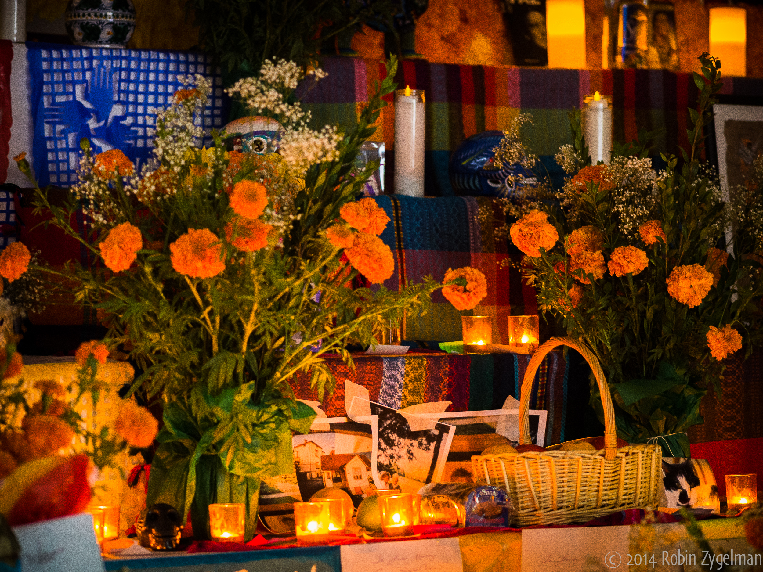 Da de los muertos museum of the city of new york bring photos of your loved ones to add to our ofrenda alter and join us in a cempaschil marigold paper flowers mightylinksfo