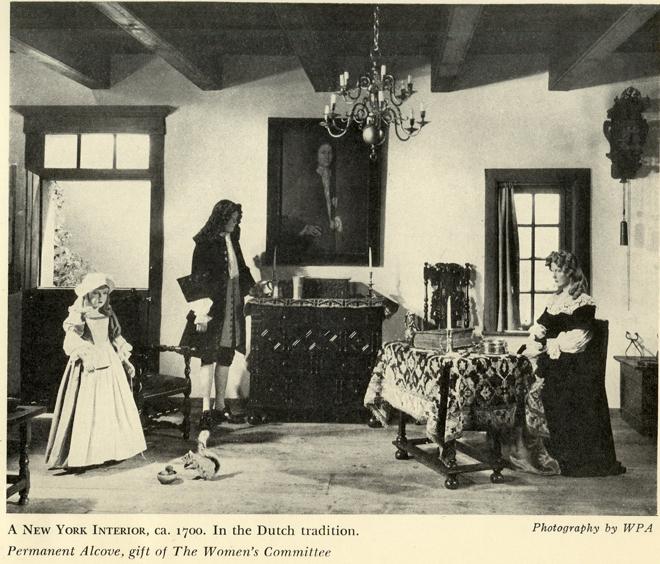 """Trecho do """"Relatório Anual do Museu da Cidade de Nova York de 1939"""". Museu da cidade de Nova York"""