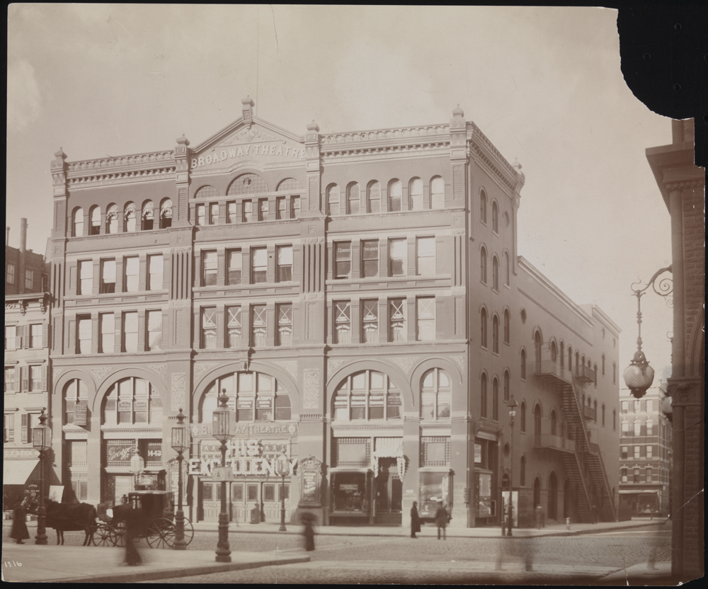 Byron Company. [Broadway Theatre.], 1895. Museum of the City of New York. 29.100.1182