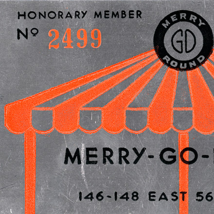 Merry-Go-Round membership card