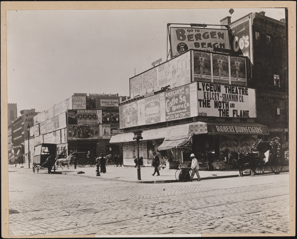 Byron Company. Street Scenes, Broadway & 42nd Street, 1898. Museum of the City of New York. 41.50.865