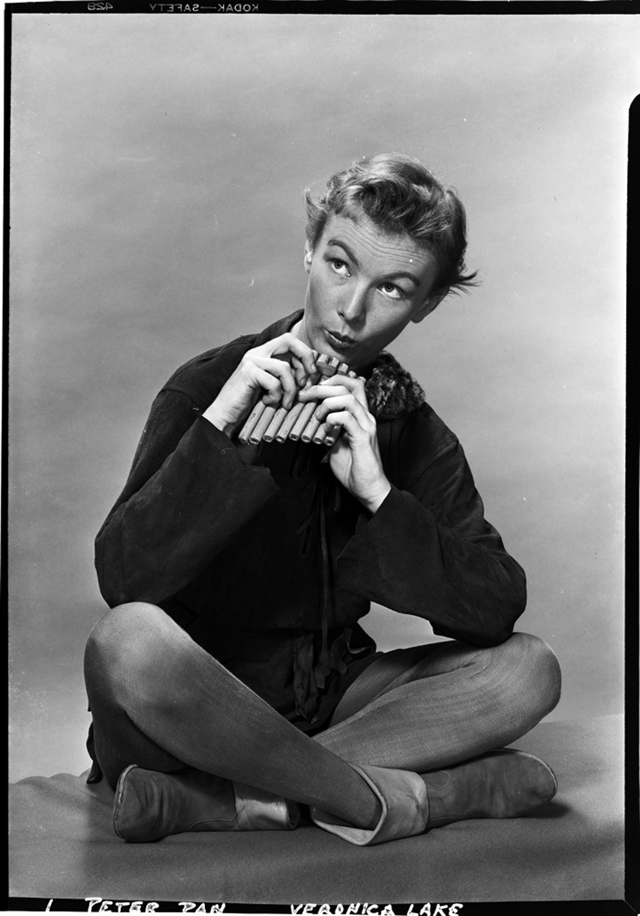 Lucas-Monroe [Veronica Lake como Peter Pan], 1951. Museo de la Ciudad de Nueva York. 80.104.1.2115