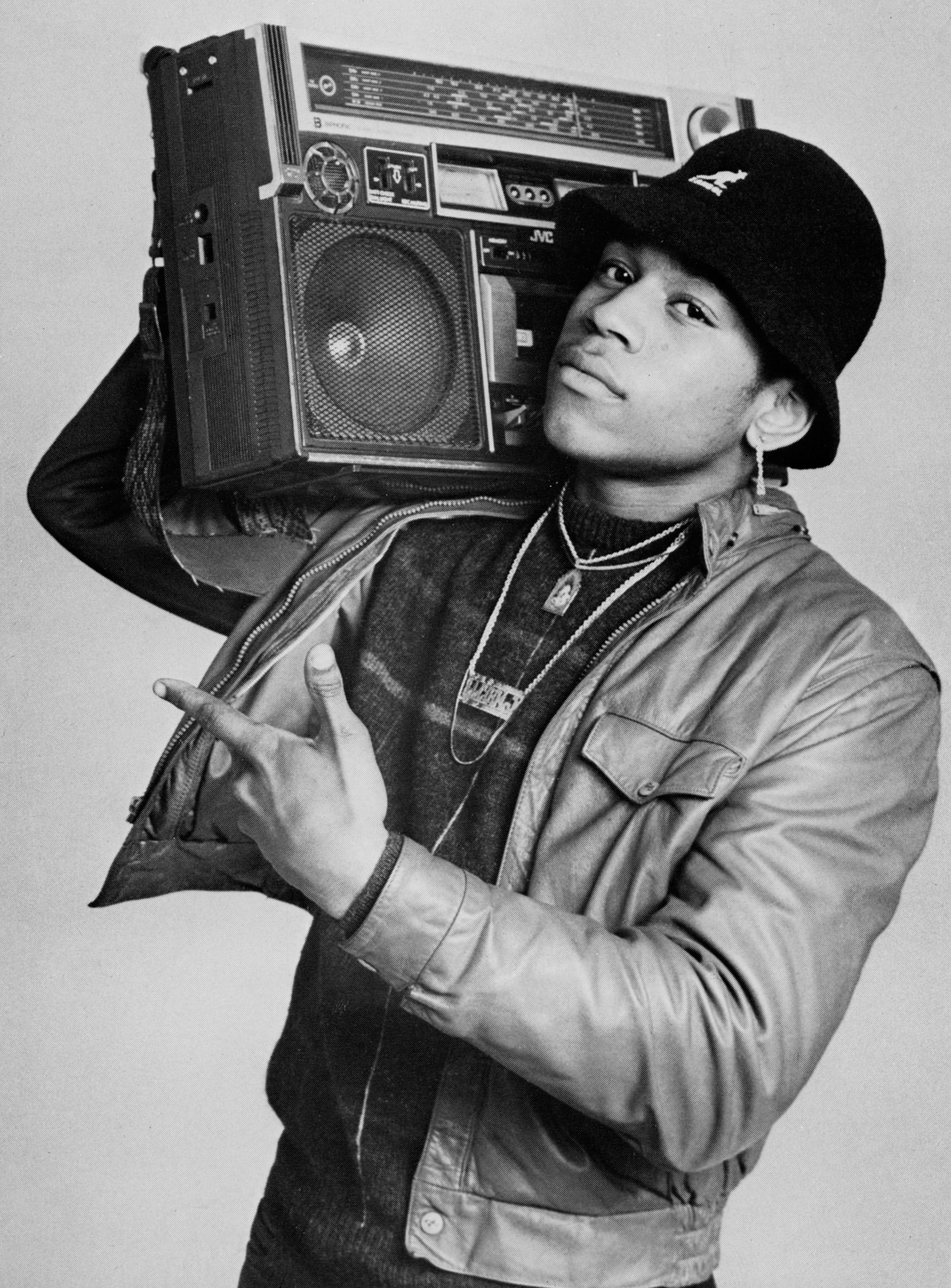 Photographie de LL Cool J - Janette Beckman (1985)