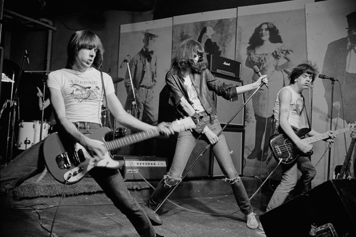 Roberta Bayley, The Ramones Live CBGB 뉴욕, 1976