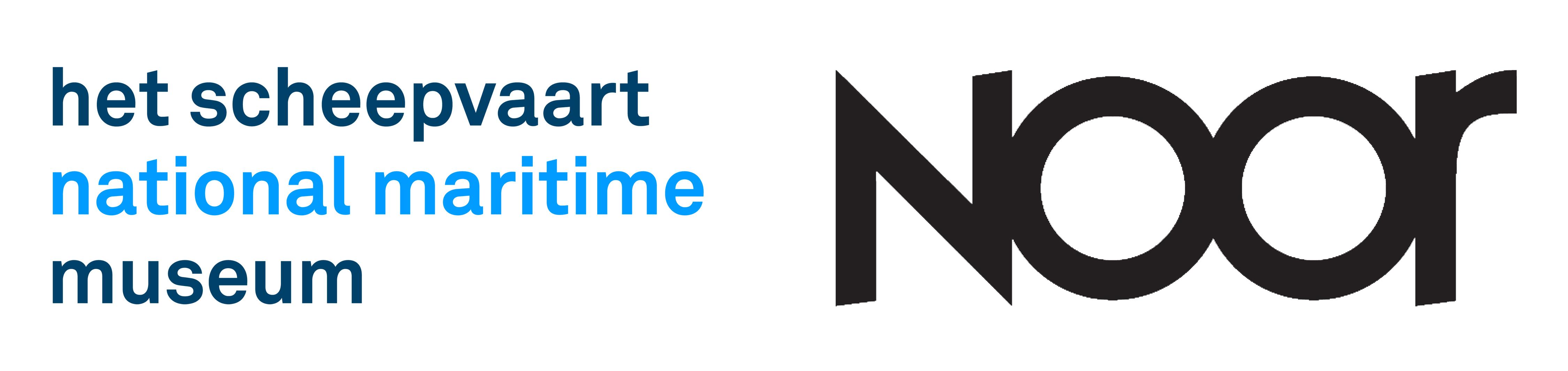 Logos pour le Musée Maritime National Het Scheepvaart et Noor - Partenaires de l'exposition Rising Tide