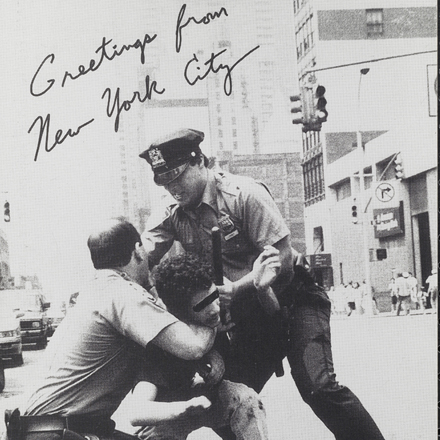 Nick Migliore, Real People Post Cards (no dates). Greetings from New York City, ca. 1990. Museum of the City of New York. 97.188.20