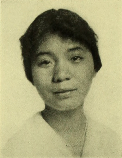 Portrait of Mabel Lee