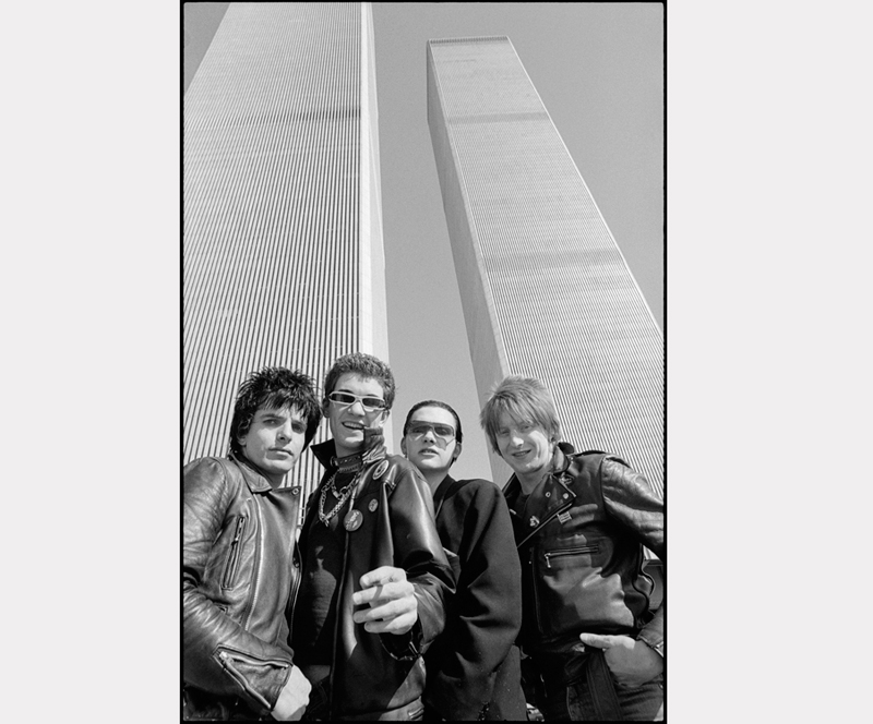 Roberta Bayley, The Damned Twin Towers, Nueva York, 1977