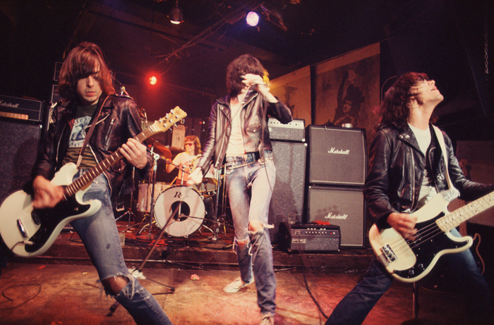 Roberta Bayley, The Ramones Live at CBGB Nueva York, 1976