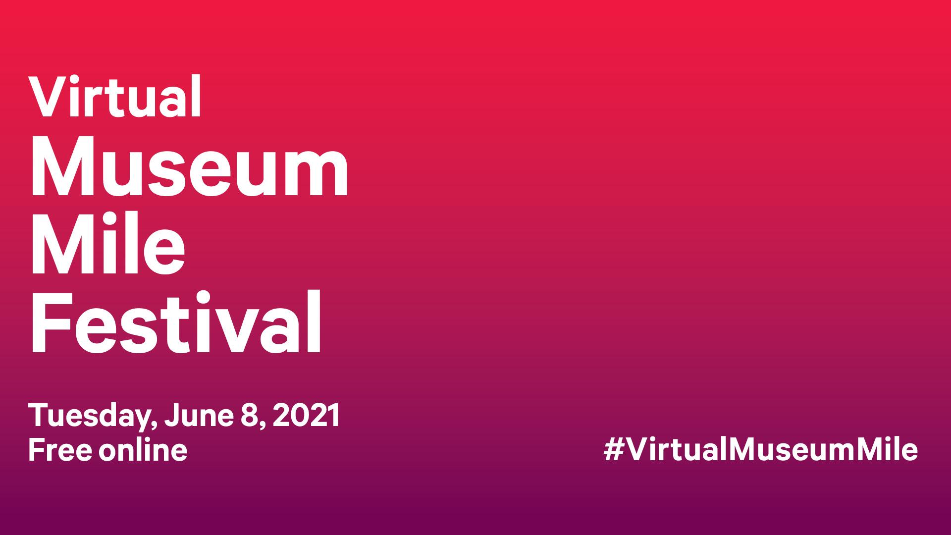 Museum Mile Festival Graphic
