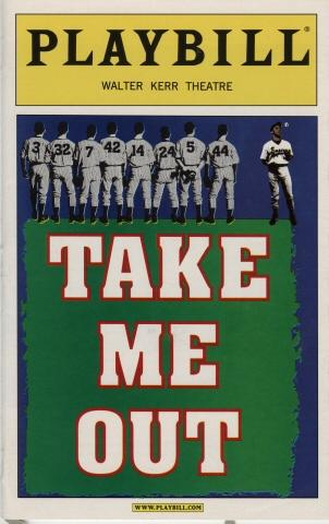 Theater program for Take Me Out, 2003. Museum of the City of New York. F2012.41.80.