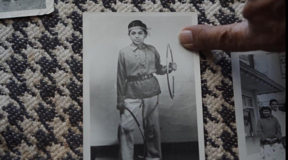 Foto de Louis Mofsie cuando era niño