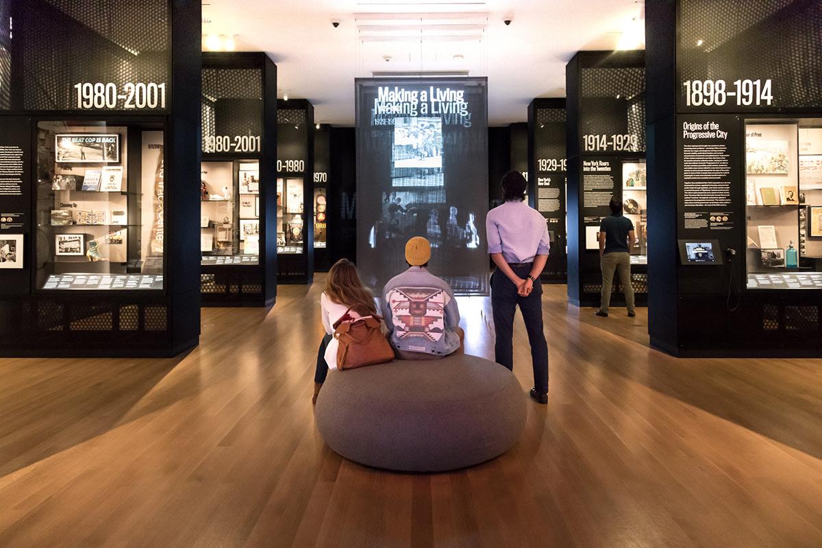 une image d'une galerie au Musée de la ville de New York