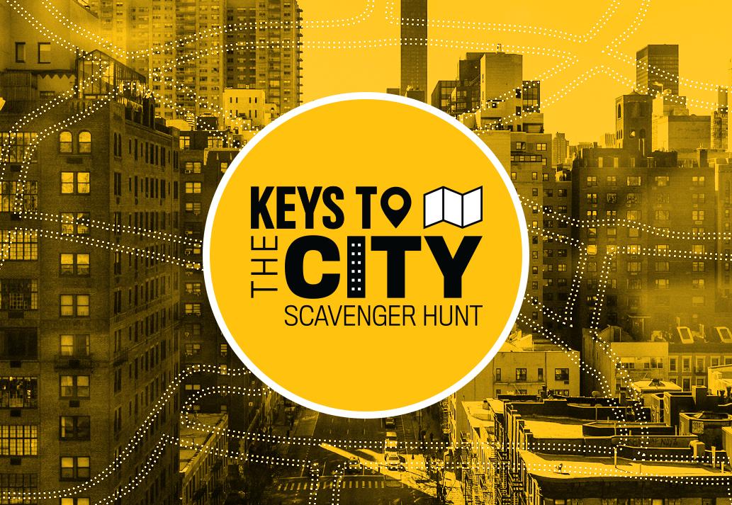 城市标志的钥匙