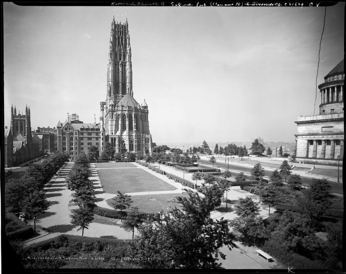 Église Riverside et parc Sakura