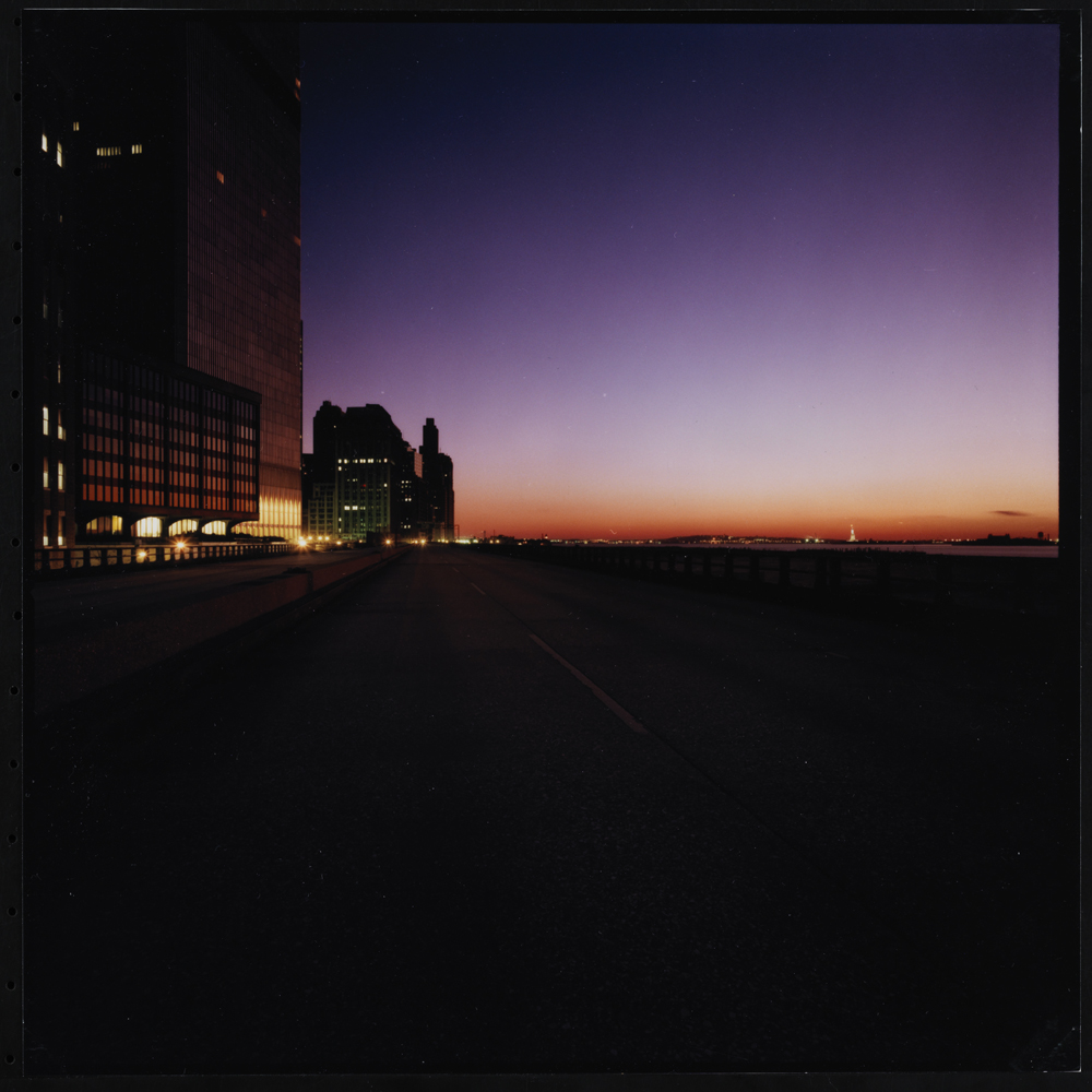 Jan Staller, Pier 32 near Canal Street, seen from the West Side Highway, 1978. Museum of the City of New York, 2015.5.3