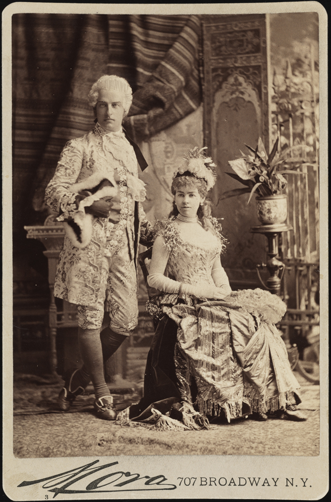 Mora (b. 1849). Mr. and Mrs. Cornelius Vanderbilt II (neé Alice Claypoole Gwynne. 1883. Museum of the City of New York. F2012.58.1341.