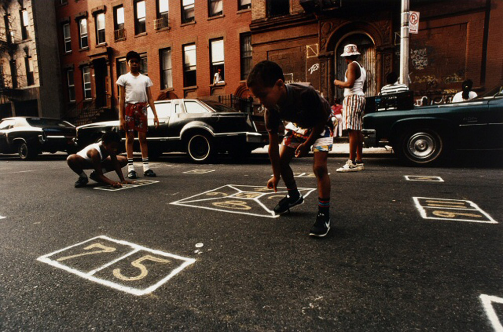 Joseph Rodriquez, Game of Skellie, East Harlem, 1987
